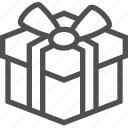 box, celebration, gift, holiday, parcel, present, surprise icon