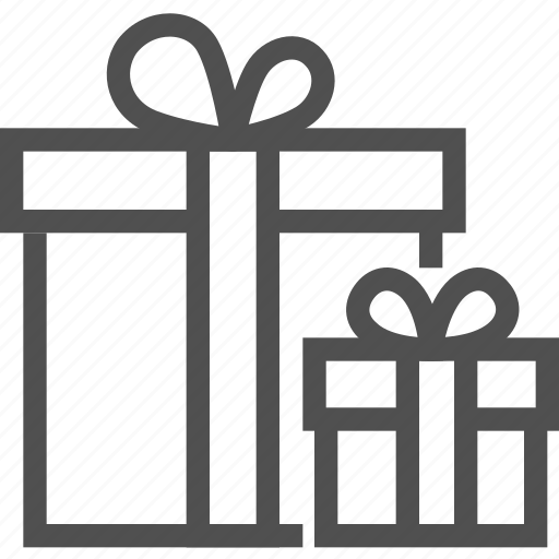box, celebration, gift, holiday, holidays, package, present icon