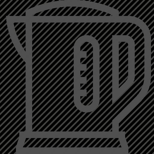 appliances, boiler, domestic, electric, kettle, kitchen, teakettle icon