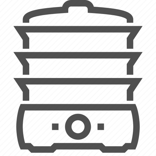appliances, bain-marie, boiler, cooking, food, kitchen, multi-cooker icon