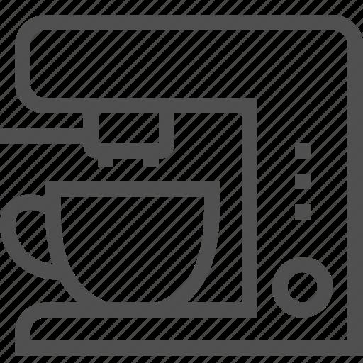 appliances, coffee, domestic, drink, kitchen, machine, maker icon