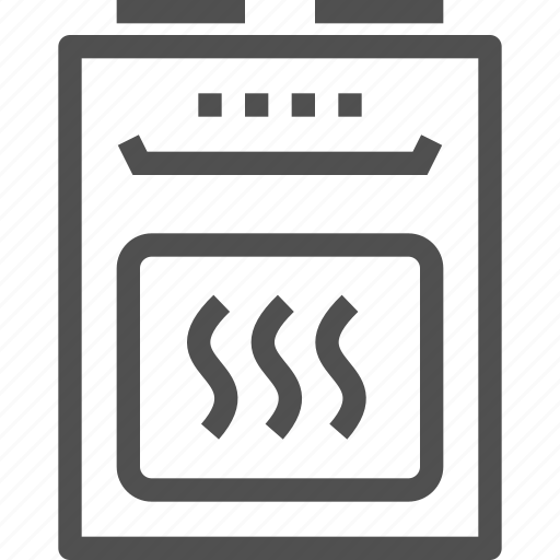 appliances, cooking, domestic, kitchen, kitchener, oven, stove icon