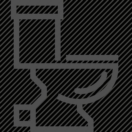 Lavatory, sewerage, bath, bowl, sanitary, toilet, wc icon - Download on Iconfinder