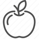 apple, casino, fruit, gambling, games, luck, slot icon
