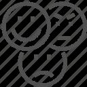 angry, emoji, emotion, like, network, social, wonder icon