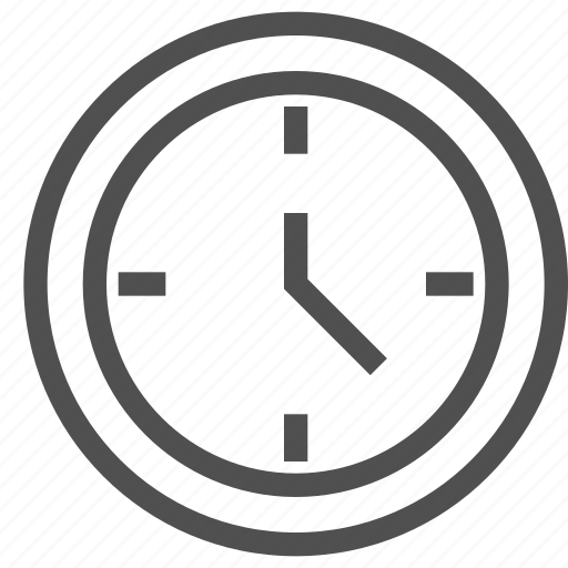 clock, hour, time, timepiece, timer, watch icon