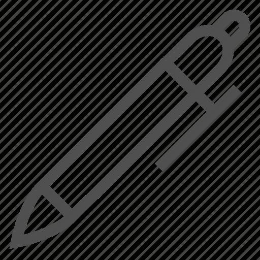 edit, marker, nib, pen, stationery, tool, write icon