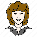 avatar, businesswoman, office, people, profession, secretary, woman icon
