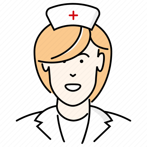 Avatar Doctor Nurse People Profession Woman Icon Download On Iconfinder