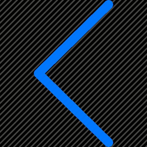 arrow, back, left, left arrow, previous icon