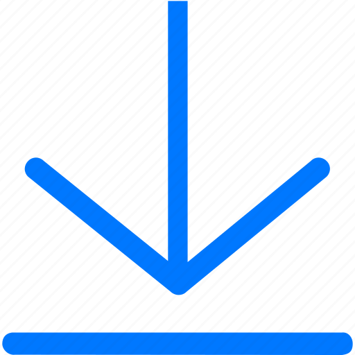 arrow, cloud, down, download, file, save icon