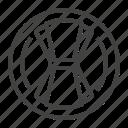 linen, napkin, serving, textile icon