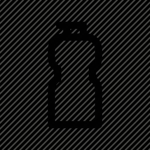 bottle, drinking, exercise, fitness, isotonic icon