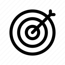 bullseye, goal, pinpoint, result, target icon