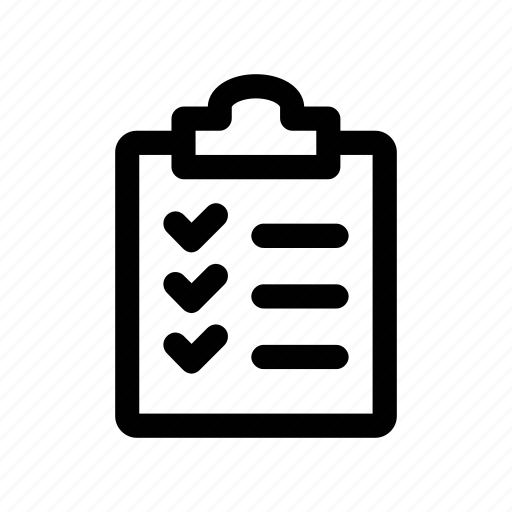 clipboard, repetition, schedule, timetable, training icon