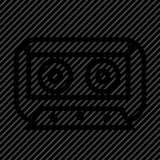 audio, media, music, tape icon