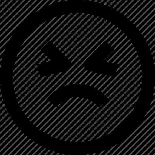 Emoji, emoticon, sad, smiley icon - Download on Iconfinder