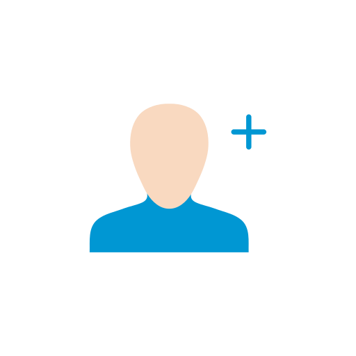 add contact, grow network, network, profile icon