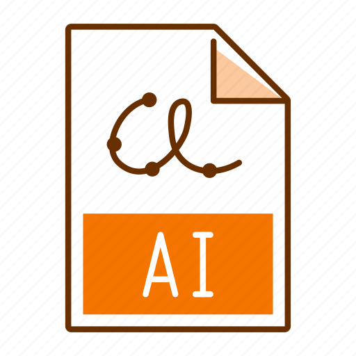 Ai, extension, file, format icon - Download on Iconfinder
