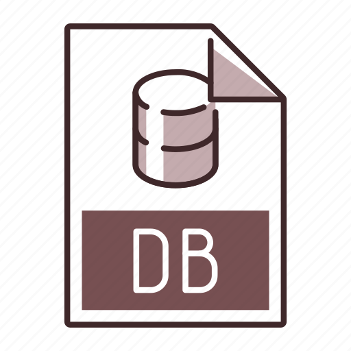 Db, extension, file, format icon - Download on Iconfinder