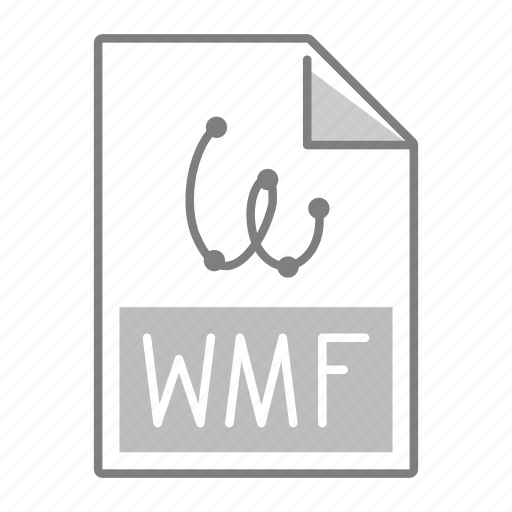extension, file, format, wmf icon