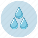 drop, drops, fluid, irrigation, liquid, water icon