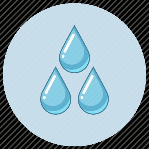 drop, drops, fluid, irrigation, liquid, water icon
