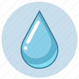 blue, liquid, waterdrop icon