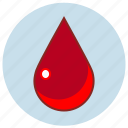 blood, death, drop, droplet, fluid, life, liquid icon