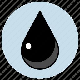 cmyk, drop, dye, key icon