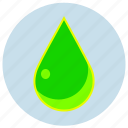 danger, drop, fluo, green, liquid, poison icon