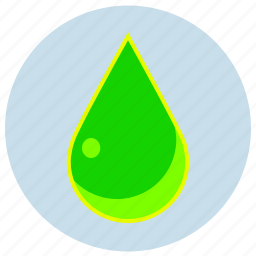 danger, drop, fluo, green, liquid, poison icon