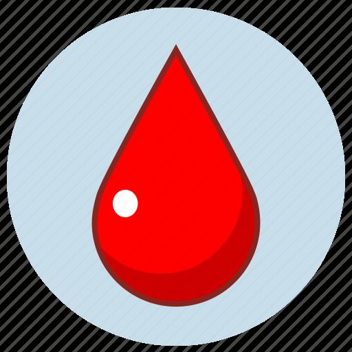 drop, liquid, red, rgb icon