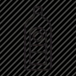 bottle, jagermeister, liquor, spirits icon