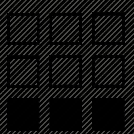 bottom, list icon