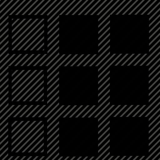 left, list icon