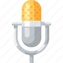 mic, microphone, music, record, silver, song, sound