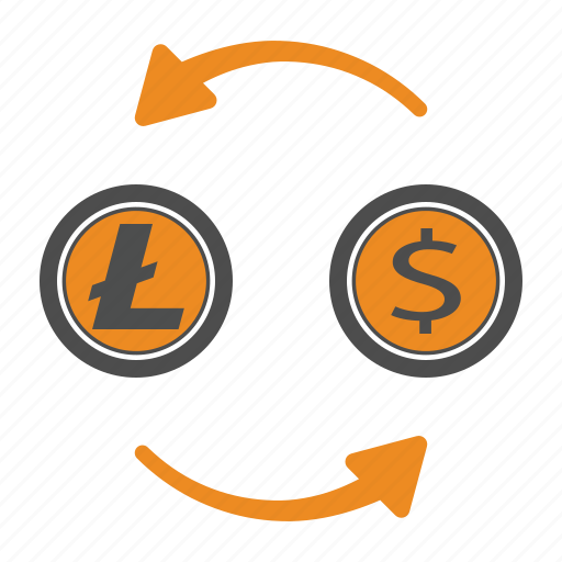 Money, litecoin, cash, transfer icon