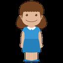 avatar, blue, child, female, girl, kid, person