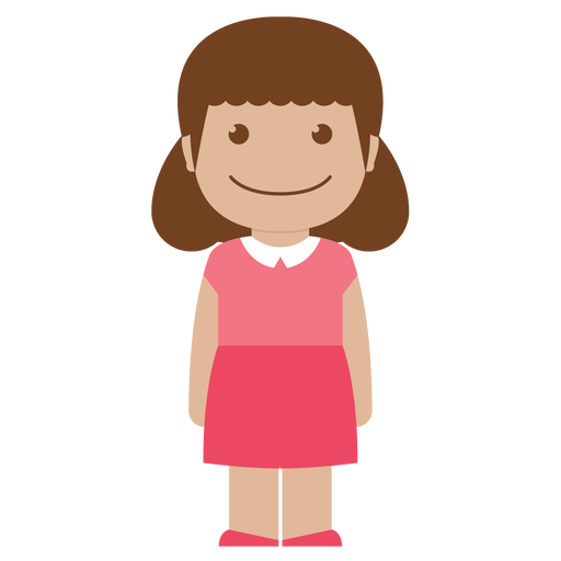 avatar, child, female, girl, kid, person, pink icon