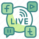 facebook, instagram, media, share, social