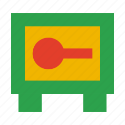 bank, business, money, protection, safe, security icon