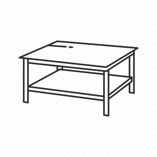 coffee, coffee table, desk, furniture, household, interior, table icon