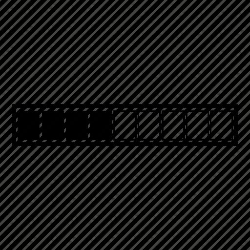 downlaod, loader, loading bar, progress bar, stream, transfer, upload icon