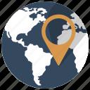 address, gps, location, map, navigation, pin, world icon