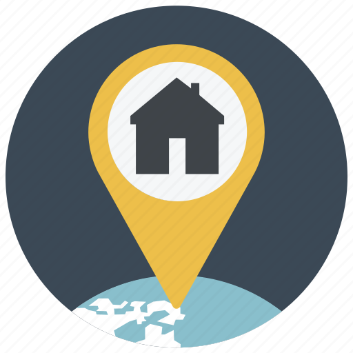address, gps, home, location, map, navigate, pin icon