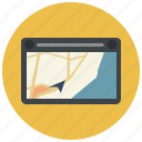 drive, gps, location, map, marker, navigation, navigator icon