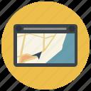 drive, gps, location, map, marker, navigation, navigator icon