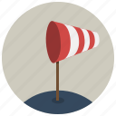 forecast, location, map, navigation, pin, weather, wind icon