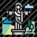 jesus, statue, christ, landmark